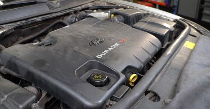 Bytte Kileribberem på Ford Mondeo mk3 Sedan 2002 2.0 TDCi alene