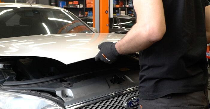 Hvordan skifte Kileribberem på FORD MONDEO III sedan (B4Y) 2004 – tips og triks
