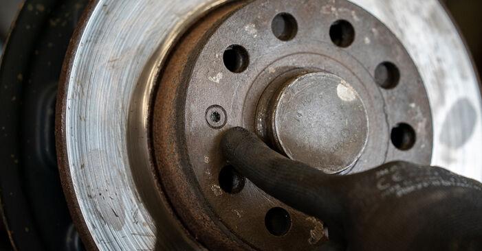 Kiek užtrunka keitimas: VW Caddy 3 2012 Rato guolis - informatyvi PDF instrukcija