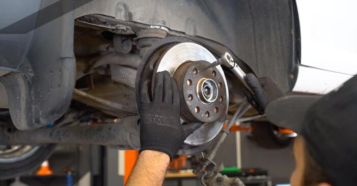 Savarankiškas VW Caddy III Universalas (2KB, 2KJ, 2CB, 2CJ) 1.6 2007 Rato guolis keitimas