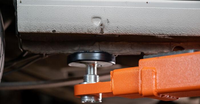 VW Caddy 3 1.6 TDI 2006 Rato guolis keitimas: nemokamos remonto instrukcijos