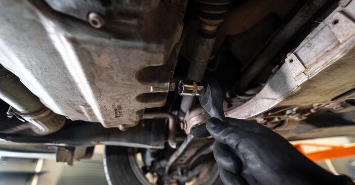 Tausch Tutorial Ölfilter am VW TOURAN (1T3) 2010 wechselt - Tipps und Tricks