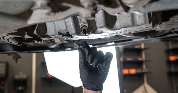 Ölfilter Touran 1t3 1.4 TSI 2012 wechseln: Kostenlose Reparaturhandbücher