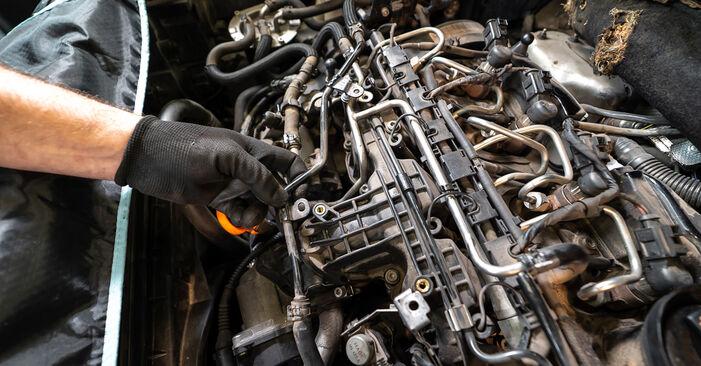 Wie VW TOURAN 1.2 TSI 2014 Ölfilter ausbauen - Einfach zu verstehende Anleitungen online