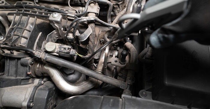 Ölfilter am VW TOURAN (1T3) 1.6 TDI 2015 wechseln – Laden Sie sich PDF-Handbücher und Videoanleitungen herunter