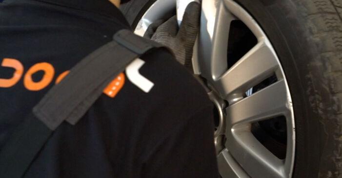 Comment retirer VW PASSAT 2.0 TDI 4motion 2009 Biellette De Barre Stabilisatrice - instructions en ligne faciles à suivre