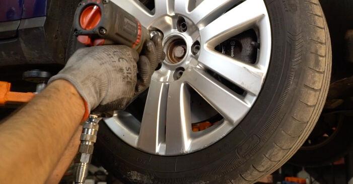 Koppelstange Passat B6 1.9 TDI 2007 wechseln: Kostenlose Reparaturhandbücher