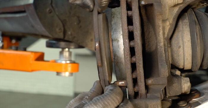 Passat Variant (3C5) 2.0 TDI 4motion 2009 2.0 TDI 16V Bremsscheiben - Handbuch zum Wechsel und der Reparatur eigenständig