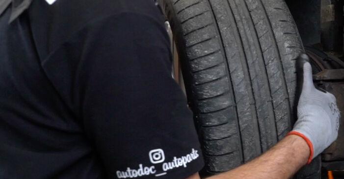 Tausch Tutorial Stoßdämpfer am VW Passat Variant (3C5) 2010 wechselt - Tipps und Tricks
