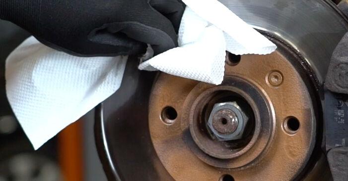Stoßdämpfer am VW GOLF III (1H1) 1.9 D 1996 wechseln – Laden Sie sich PDF-Handbücher und Videoanleitungen herunter