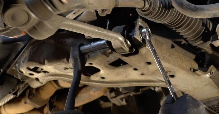 BMW 1 SERIES 2013 Амортисьор стъпка по стъпка наръчник за смяна