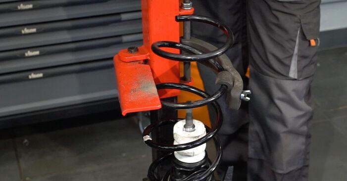 Смяна на BMW E82 123d 2.0 2008 Амортисьор: безплатни наръчници за ремонт