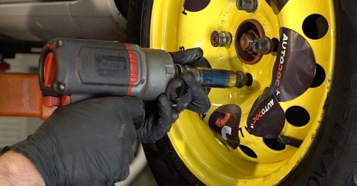 Schritt-für-Schritt-Anleitung zum selbstständigen Wechsel von Renault Clio 3 2008 1.2 16V Hi-Flex Radlager