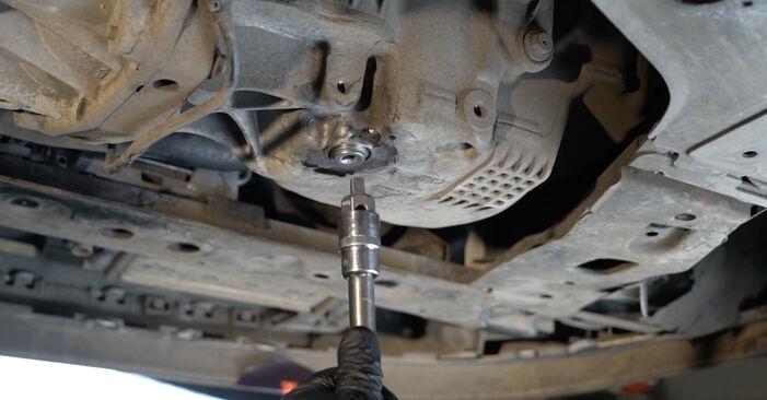 Cambie Filtro de Aceite en un RENAULT Clio III Hatchback (BR0/1, CR0/1) 2.0 16V Sport (CR0N, CR1P) 2008 usted mismo