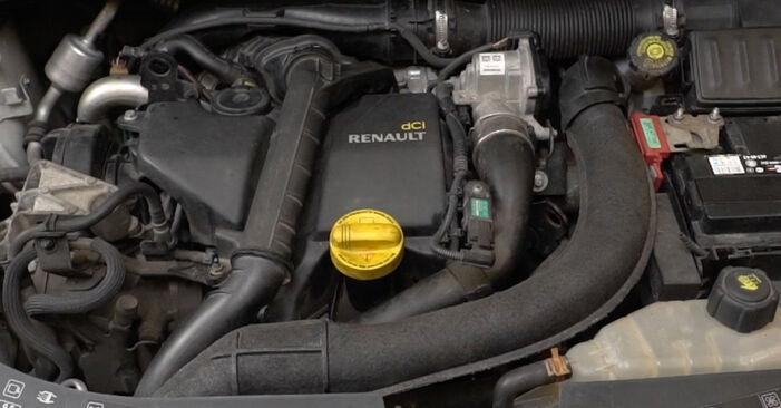 Clio III Hatchback (BR0/1, CR0/1) 1.2 16V Hi-Flex 2006 Filtro de Aceite manual de taller de sustitución por su cuenta