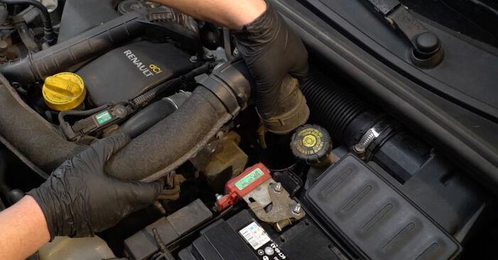Cambio Filtro de Aceite en Renault Clio 3 2013 no será un problema si sigue esta guía ilustrada paso a paso