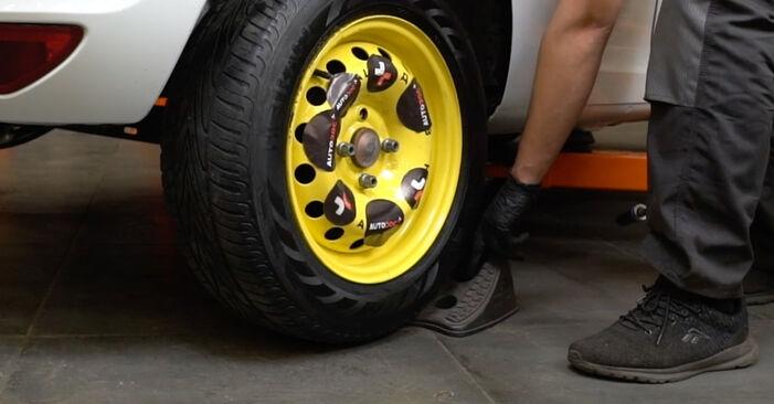 Radlager Ihres Renault Clio 3 2.0 16V Sport (CR0N, CR1P) 2013 selbst Wechsel - Gratis Tutorial