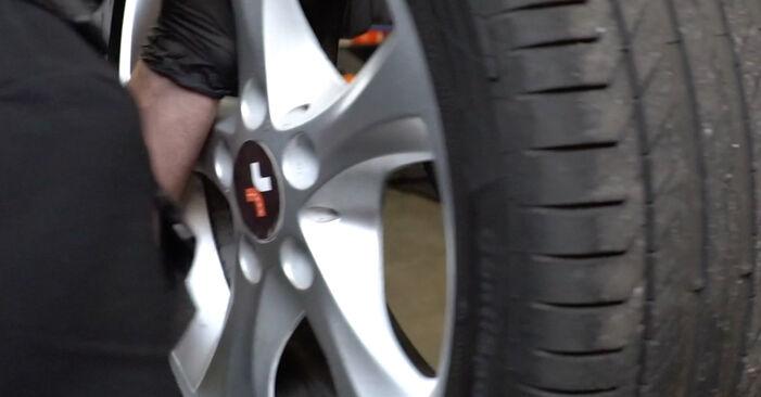 Priporočila korakov za DIY zamenjavo BMW E82 2011 125i 3.0 Blazilnik