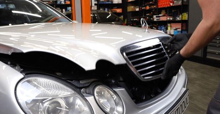Wie Kraftstofffilter Mercedes W211 E 220 CDI 2.2 (211.006) 2002 tauschen - Kostenlose PDF- und Videoanleitungen