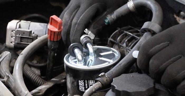 E-Klasse Limousine (W211) E 280 CDI 3.0 (211.020) 2005 E 270 CDI 2.7 (211.016) Kraftstofffilter - Handbuch zum Wechsel und der Reparatur eigenständig