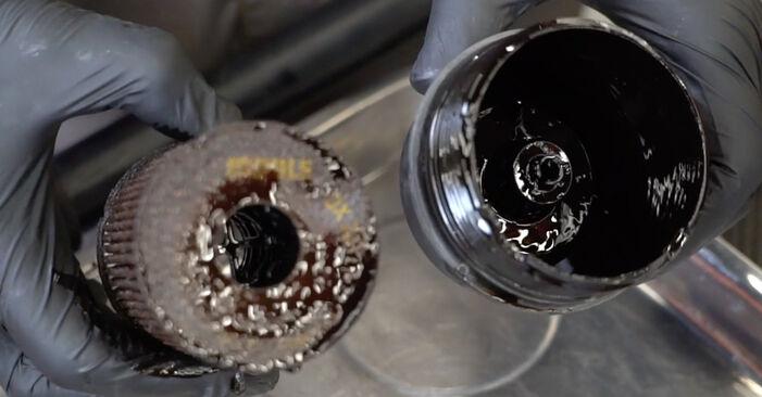 207 (WA_, WC_) 1.6 16V VTi 2007 Ölfilter - Wegleitung zum selbstständigen Teileersatz