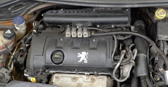 Schrittweise Anleitung zum eigenhändigen Ersatz von Peugeot 207 WA 2009 1.6 16V VTi Ölfilter