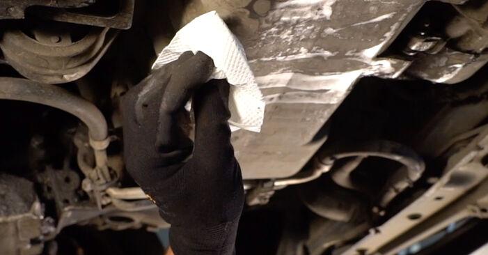 CITROËN XSARA 1.6 Ölfilter ausbauen: Anweisungen und Video-Tutorials online