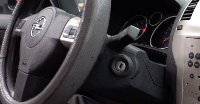 Opel Zafira B 2015 1.9 CDTI (M75) Oro filtras, keleivio vieta keitimas savarankiškai