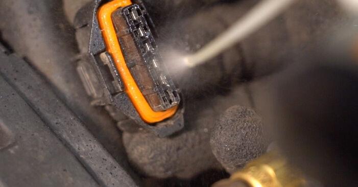 Wie Zündkerzen Opel Zafira B 1.9 CDTI (M75) 2005 tauschen - Kostenlose PDF- und Videoanleitungen
