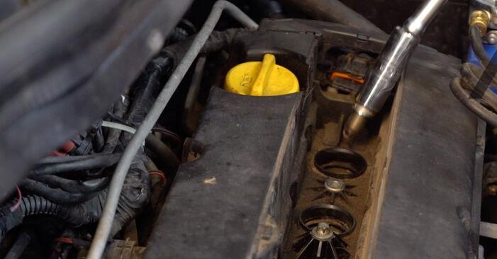 Zündkerzen Ihres Opel Zafira B 1.7 CDTI (M75) 2013 selbst Wechsel - Gratis Tutorial