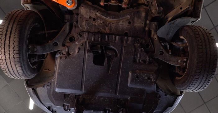 Ford Focus mk2 Sedanas 1.8 TDCi 2006 Alyvos filtras keitimas: nemokamos remonto instrukcijos