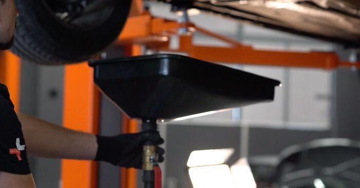 Ar sudėtinga pasidaryti pačiam: Ford Focus mk2 Sedanas 1.4 2010 Alyvos filtras keitimas - atsisiųskite iliustruotą instrukciją