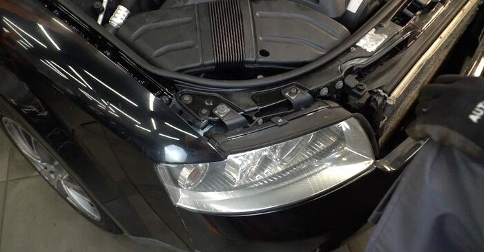 Austauschen Anleitung Innenraumfilter am Audi A4 B6 Avant 2003 1.9 TDI selbst