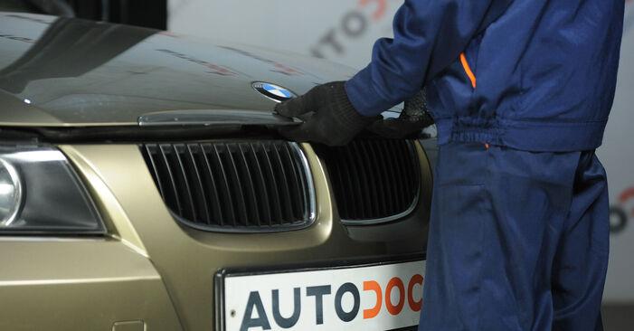 Schritt-für-Schritt-Anleitung zum selbstständigen Wechsel von BMW E90 2004 325i 2.5 Domlager