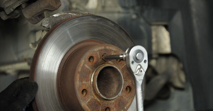 Radlager beim BMW 3 SERIES 320d 2.0 2011 selber erneuern - DIY-Manual