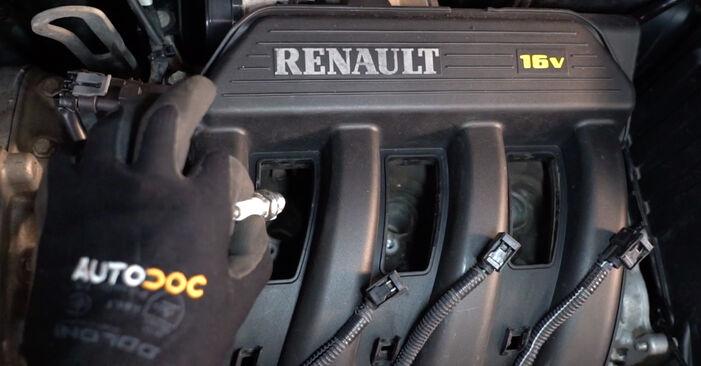 RENAULT MEGANE 2.0 Bougies d'Allumage remplacement: guides en ligne et tutoriels vidéo