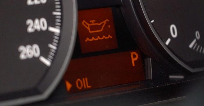 Faites-le vous-même : tutoriel en ligne pour le changement de BMW 3 SERIES Filtre à Huile