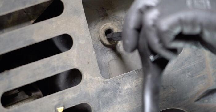 Changing Oil Filter on PEUGEOT 308 I Hatchback (4A_, 4C_) 1.4 16V 2010 by yourself