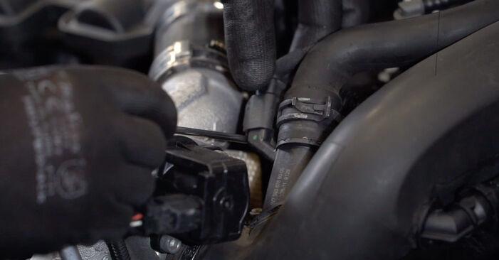 Peugeot 308 I 1.6 16V 2009 Oil Filter replacement: free workshop manuals