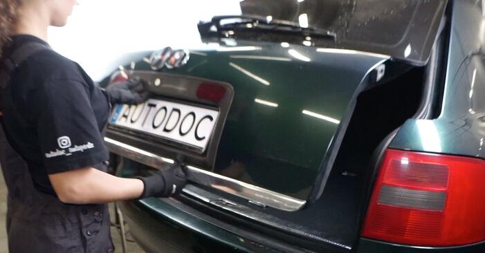 Wie Heckklappendämpfer Audi A6 C5 Avant 2.5 TDI quattro 1997 tauschen - Kostenlose PDF- und Videoanleitungen