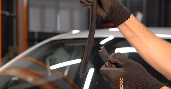 Scheibenwischer Volvo V50 Kombi 1.6 D2 2005 wechseln: Kostenlose Reparaturhandbücher