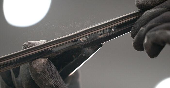 Scheibenwischer Toyota Prado J120 3.0 D 1997 wechseln: Kostenlose Reparaturhandbücher