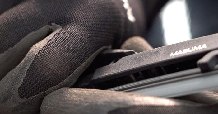 Scheibenwischer Toyota RAV4 III 2.2 D (ALA35_) 2007 wechseln: Kostenlose Reparaturhandbücher