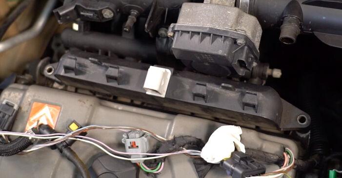 CITROËN C3 I (FC_) 1.4 i 2004 Zündkerzen wechseln: Kostenfreie Reparaturwegleitungen