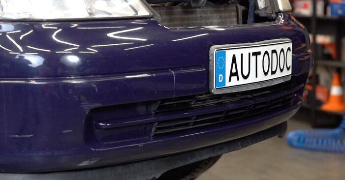 Opel Astra g f48 1.6 (F08, F48) 2000 Stabilisatorstang remplaceren: kosteloze garagehandleidingen