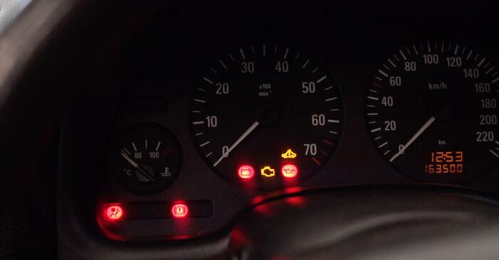 Opel Astra G CC 1.6 (F08, F48) 2000 Zündkerzen wechseln: Kostenfreie Reparaturwegleitungen