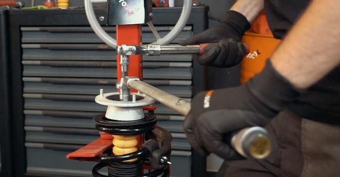 BMW X3 E83 2007 3.0 sd Toronycsapágy csináld magad csere - javaslatok lépésről lépésre