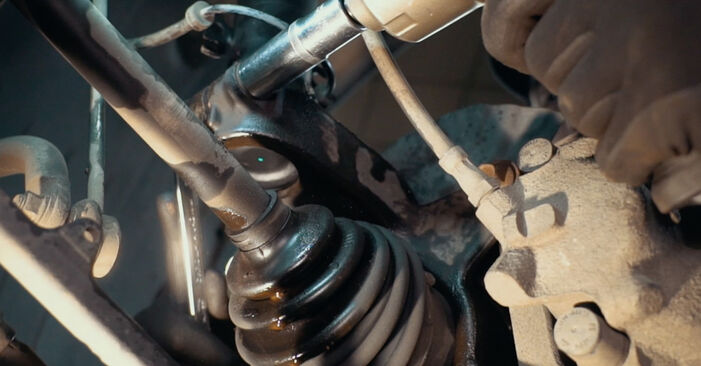 BMW X3 2010 Toronycsapágy lépésről lépésre csere útmutató