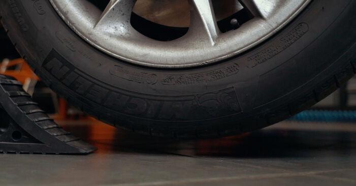 Toronycsapágy BMW X3 (E83) 2008 csere - töltsön le PDF útmutatókat és utasításokat tartalmazó videókat
