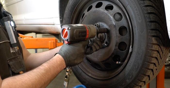 Wechseln Scheibenwischer am FORD Fiesta Mk5 Schrägheck (JH1, JD1, JH3, JD3) 1.25 16V 2004 selber